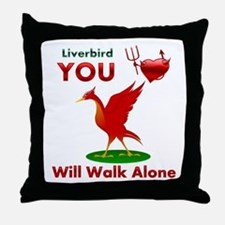 Liverpool FC Throw Pillow
