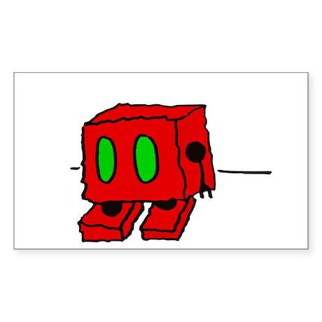 Fuzzy Robot Sticker