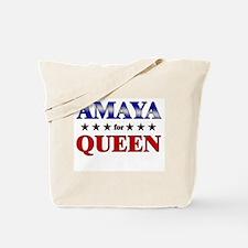 AMAYA for queen Tote Bag