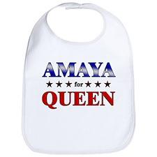 AMAYA for queen Bib