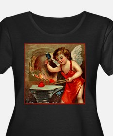Valentine Blacksmith Plus Size Scoop Neck T-Shirt