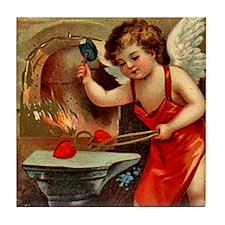 Valentine Blacksmith 3 Tile Coaster