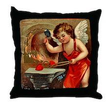 Valentine Blacksmith 3 Throw Pillow