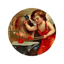 """Valentine Blacksmith 3 3.5"""" Button"""