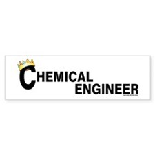 Royal Chemical Engineer Bumper Bumper Sticker