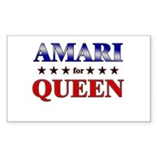 AMARI for queen Rectangle Decal
