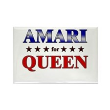 AMARI for queen Rectangle Magnet