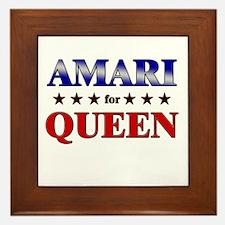 AMARI for queen Framed Tile