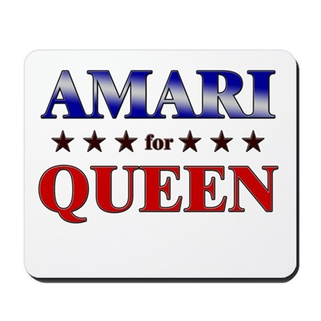AMARI for queen Mousepad