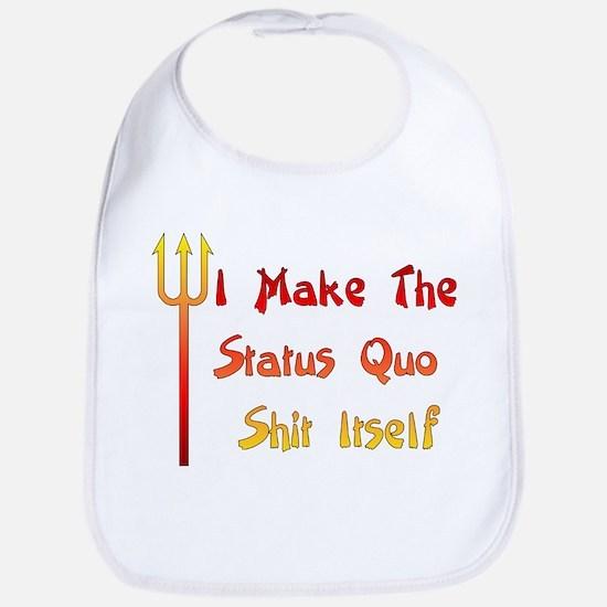 Status Quo Humor Bib