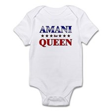 AMANI for queen Infant Bodysuit
