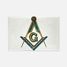 Cute Masonic Rectangle Magnet (100 pack)