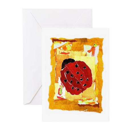 """Mom's Ladybug"" Greeting Cards (Pk of 10)"