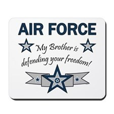 Air Force Brother defending Mousepad