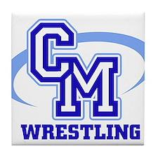 CM Wrestling 12 Tile Coaster