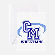 CM Wrestling 12 Greeting Card