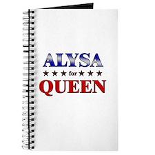 ALYSA for queen Journal