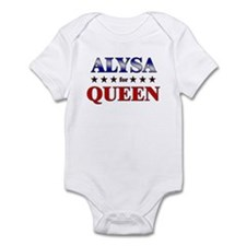 ALYSA for queen Onesie