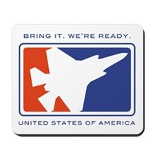 F35 Joint Strike Fighter Mousepad
