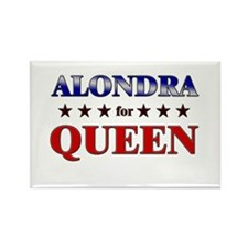 ALONDRA for queen Rectangle Magnet