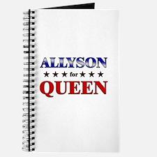 ALLYSON for queen Journal