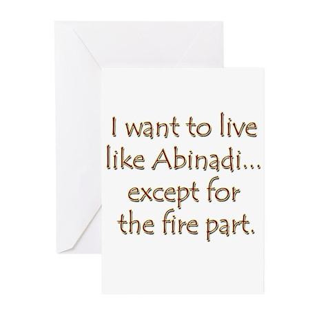 LDS Website- Abinadi Greeting Cards (Pk of 10)