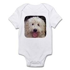 Golden Doodle Close up Infant Bodysuit