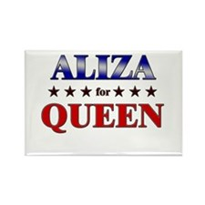 ALIZA for queen Rectangle Magnet
