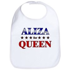ALIZA for queen Bib