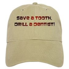 Save a tooth Baseball Cap