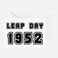 LEAP DAY 1952 Greeting Card