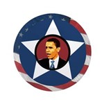 Big Barack Obama Patriotic 3.5