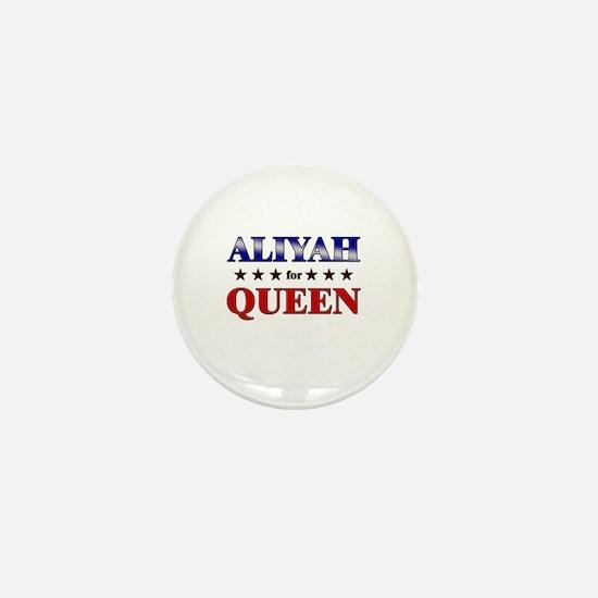 ALIYAH for queen Mini Button