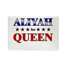 ALIYAH for queen Rectangle Magnet
