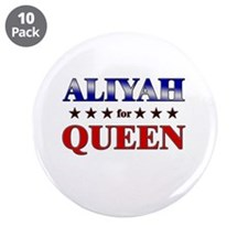 """ALIYAH for queen 3.5"""" Button (10 pack)"""