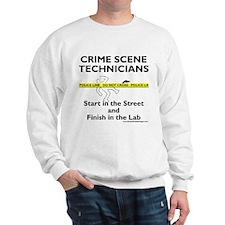 """Crime Scene Techs Do It"" Sweatshirt"