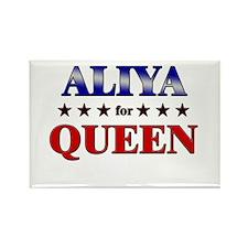 ALIYA for queen Rectangle Magnet