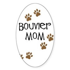 Bouvier Mom Oval Decal