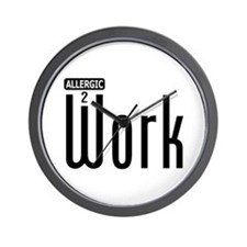 Allergic To Work: Wall Clock