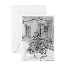 Cute Pencil drawing Greeting Card