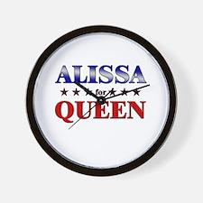 ALISSA for queen Wall Clock