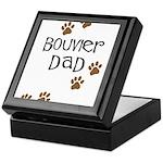 Bouvier Dad Keepsake Box