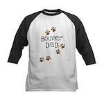 Bouvier Dad Kids Baseball Jersey