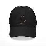Bouvier Dad Black Cap