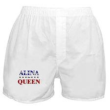 ALINA for queen Boxer Shorts