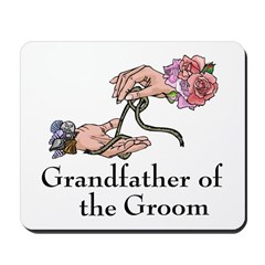 Handfasting Grandfather of the Groom Mousepad