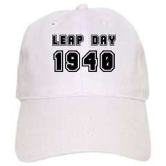 LEAP DAY 1940 Baseball Cap
