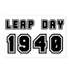 LEAP DAY 1940 Postcards (Package of 8)
