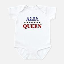 ALIA for queen Infant Bodysuit