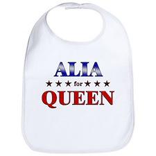 ALIA for queen Bib